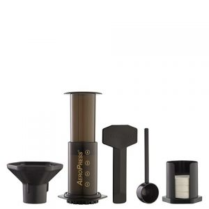 Picture of Aeropress set available from Leaf Bean Machine
