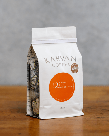 Karvan Coffee Blend 2 250g proudly roasted by Leaf Bean Machine