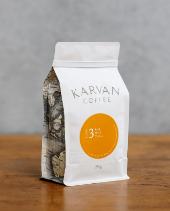 Blend #3 featuring Classic Sumatran coffee flavours