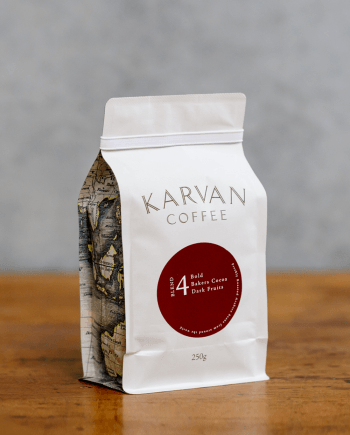 Karvan Coffee Blend 4 250g roasted by Leaf Bean Machine