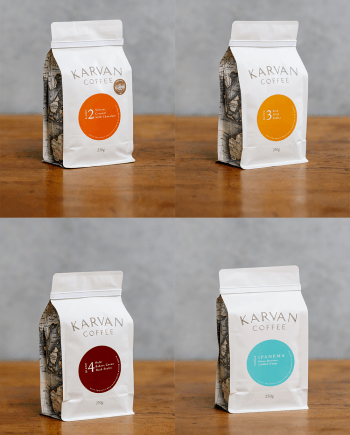 Karvan Coffee Variety Pack proudly roasted by Leaf Bean Machine