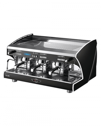 Wega Polaris available from Leaf Bean Machine - Black