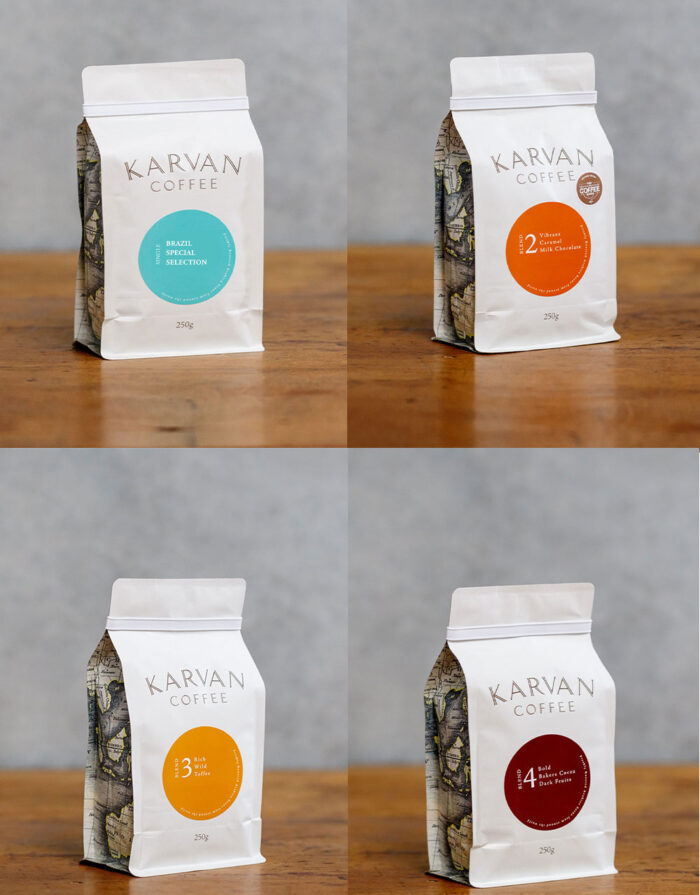 Karvan coffee variety pack. A selection of our most popular Blends.