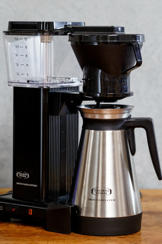 Moccamaster available from Leaf Bean Machine