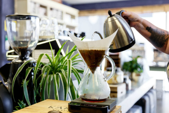 Chemex Brewing - Leaf Bean Machine