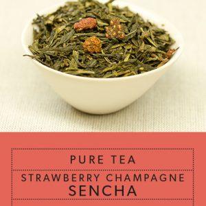 Image of Pure-Tea-Strawberry-Champagne-Sencha Tea
