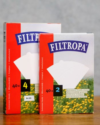 Filtropa filters #1 and #2 available from Leaf Bean Machine