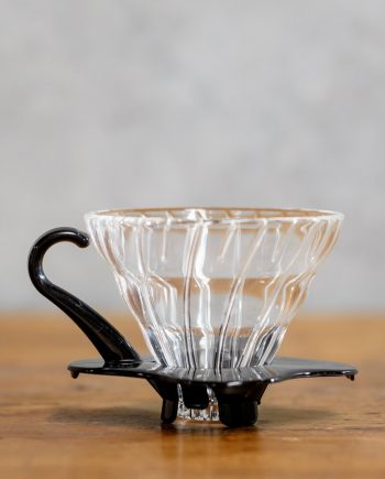 Pour over coffee maker - Hario v60 Glass Dripper