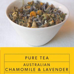 Pure Tea Australian Chamomile and Lavender
