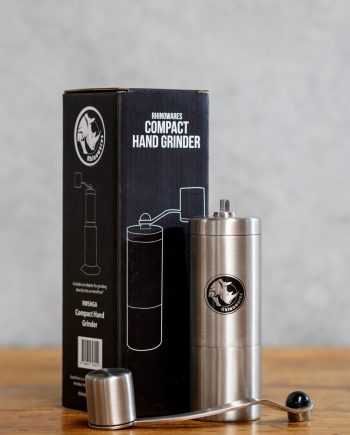 Rhinowares Hand Grinder available from Leaf Bean Machine
