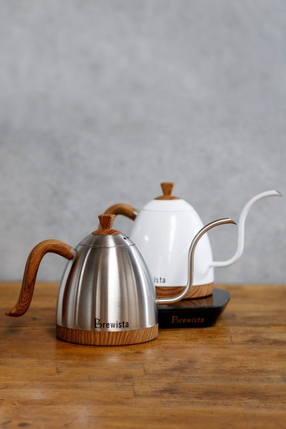 Brewista Gooseneck Kettles available from Leaf Bean Machine