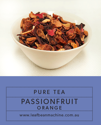 Pure Tea Passionfruit Orange - Leaf Bean Machine