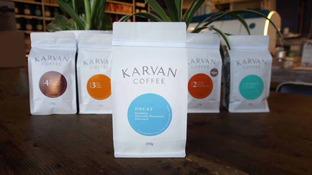 Leaf Bean Machine - Karvan Coffee - Decaf