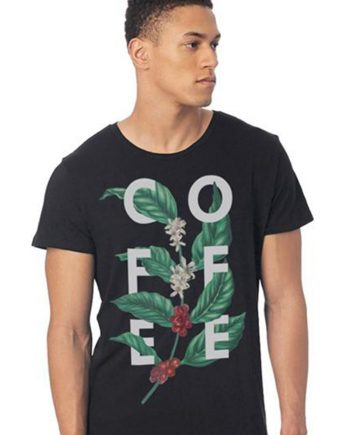 Coffee Branch T-shirt - Department of Brewology - Leaf Bean Machine