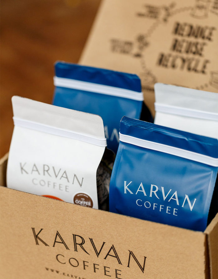 Karvan Coffee Subscription Box available from Leaf Bean Machine