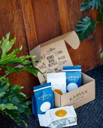 Karvan Coffee Subscription Box from Leaf Bean Machine