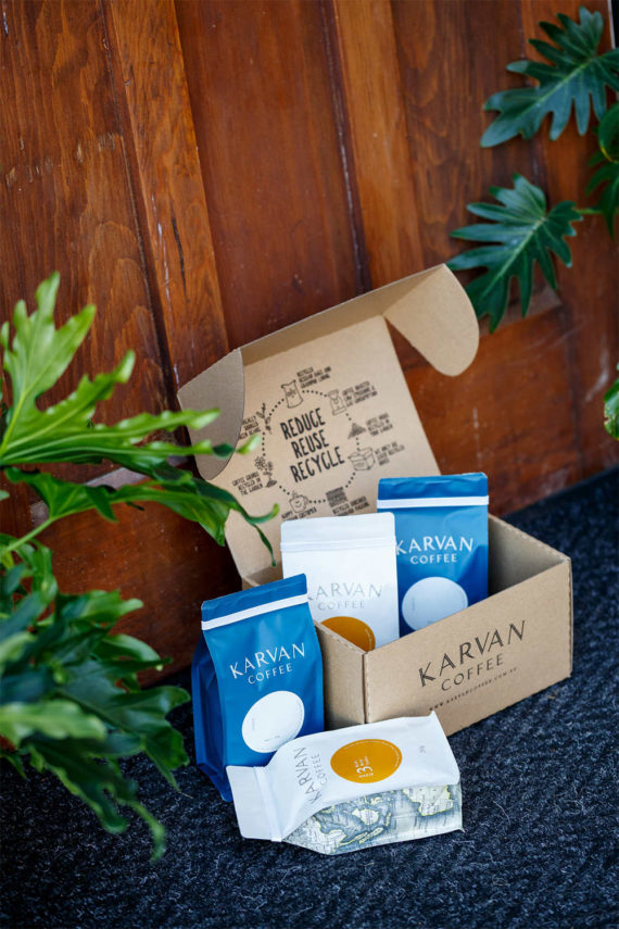 Karvan Coffee Subscription Box from Leaf Bean Machine