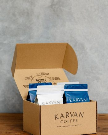 Karvan Coffee 3 month Subscription Box available from Leaf Bean Machine