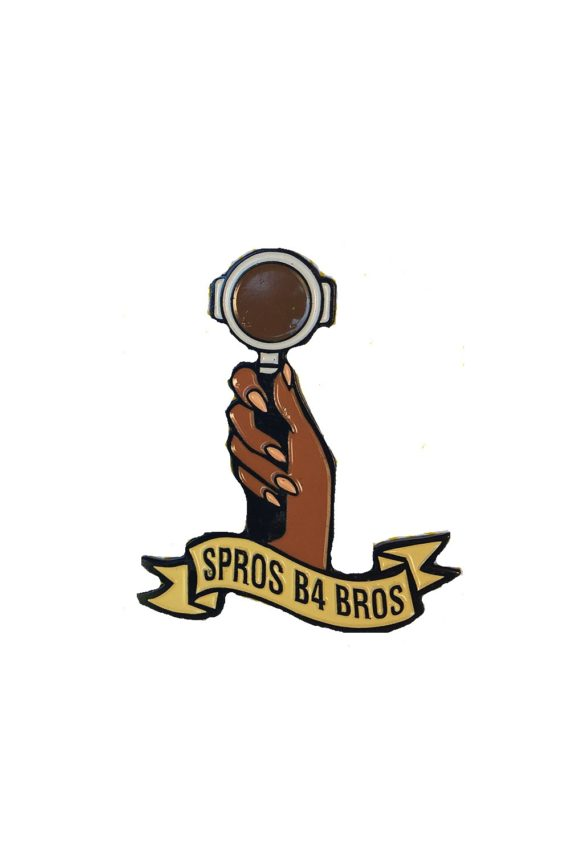 Spros B4 Pin - Department of Brewology - Leaf Bean Machine