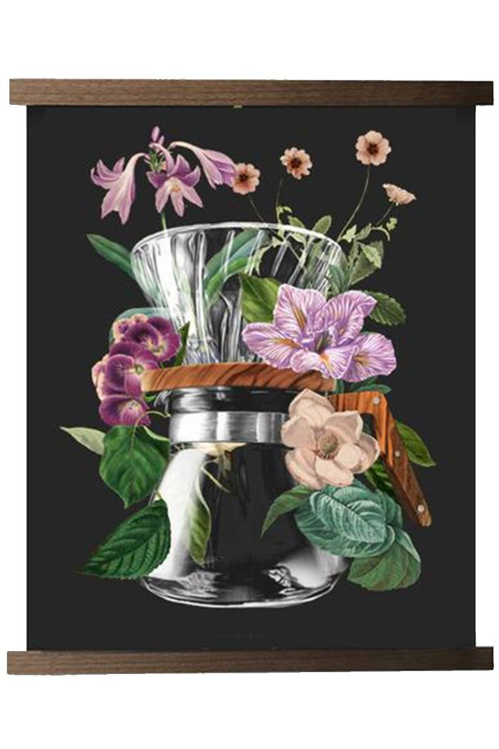 V60 Bloom Series Print - Department of Brewology available from Leaf Bean Machine