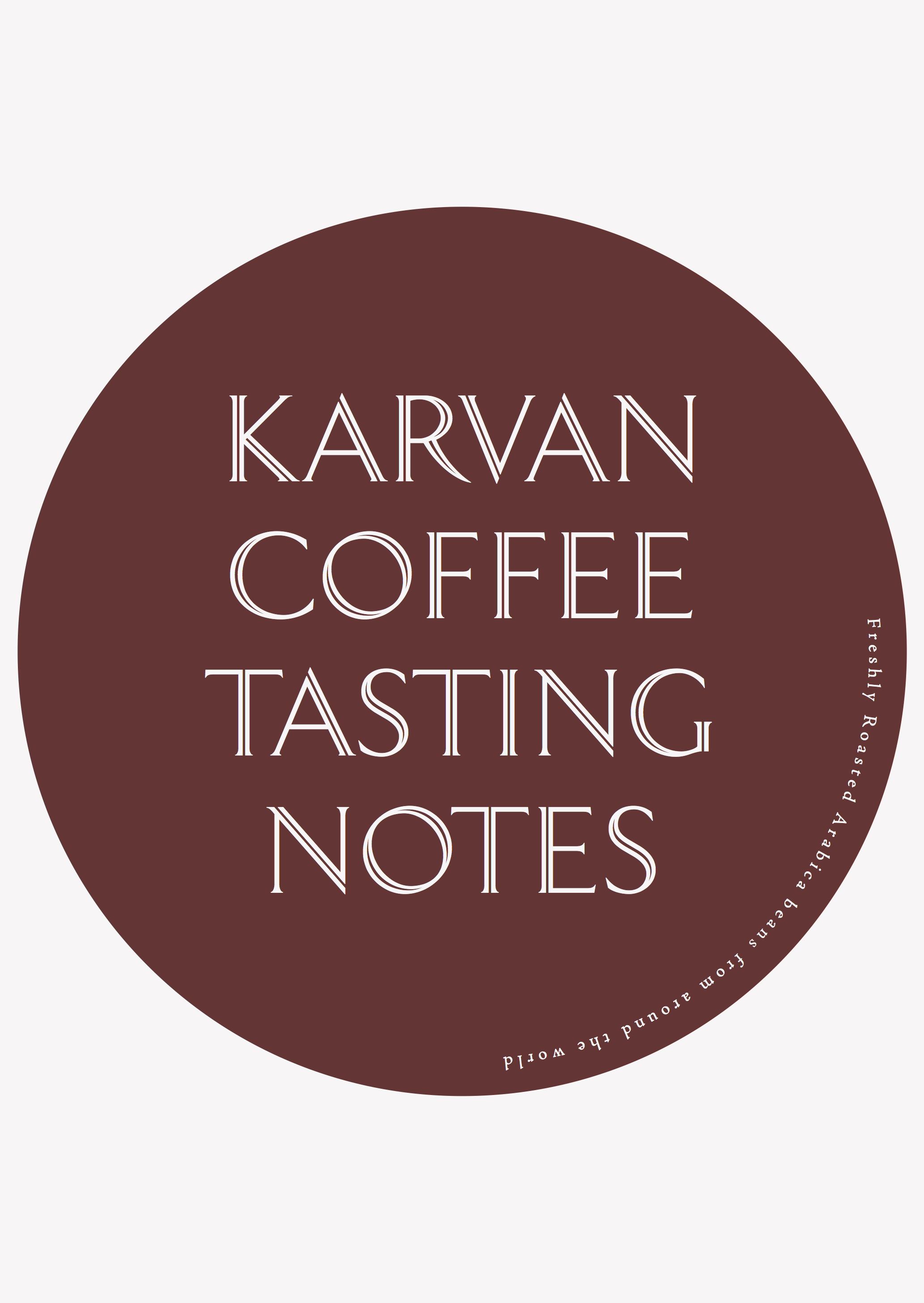 Karvan Coffee - Blend 4 - Taste Notes