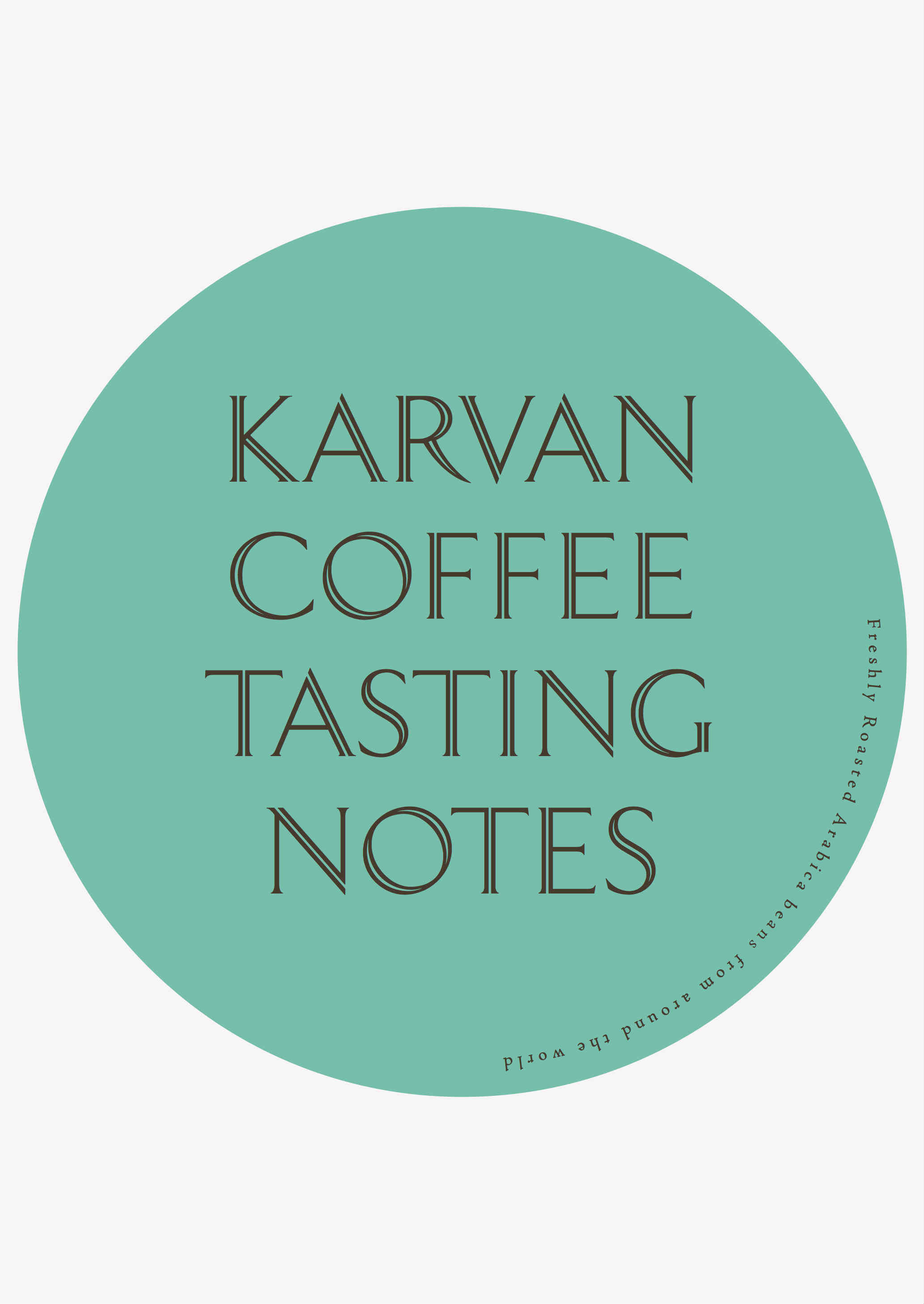 Karvan Coffee - Ipanema Taste Notes