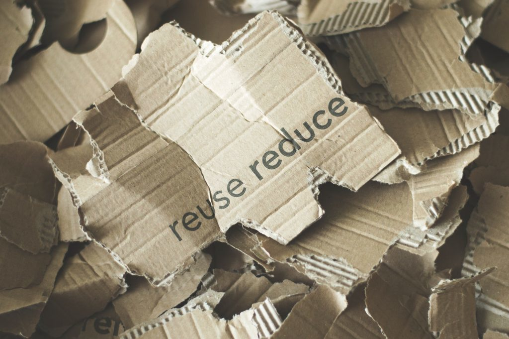 Recycling: Reduce, reuse, recycle