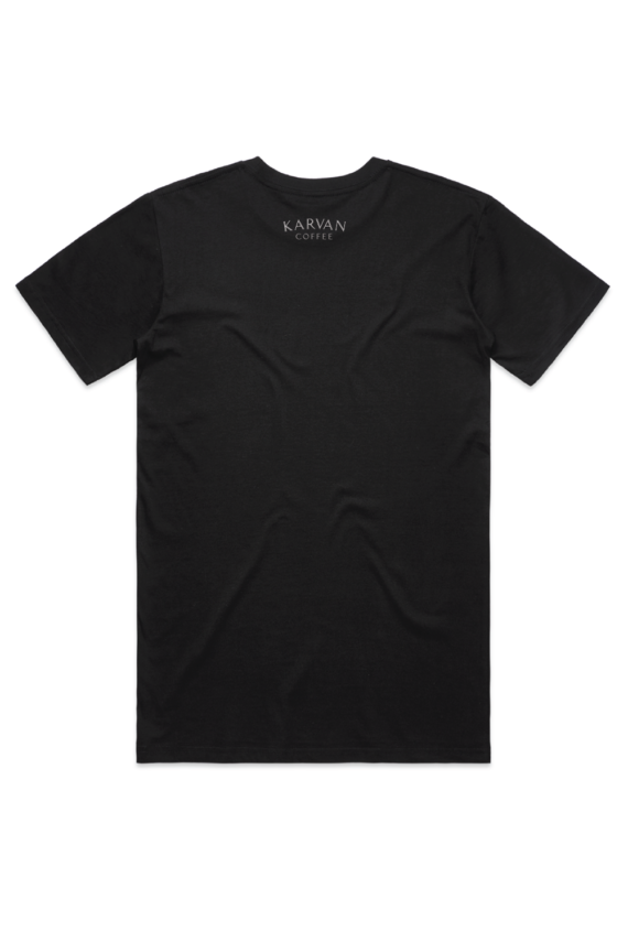 karvan coffee tshirt black