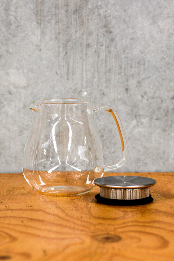 Japanese glass tea pot